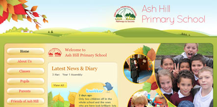 Ash-Hill-School-website