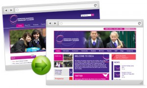 School Website Facelift