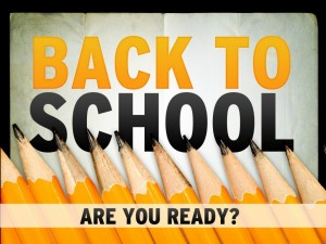 Back to school website checklist