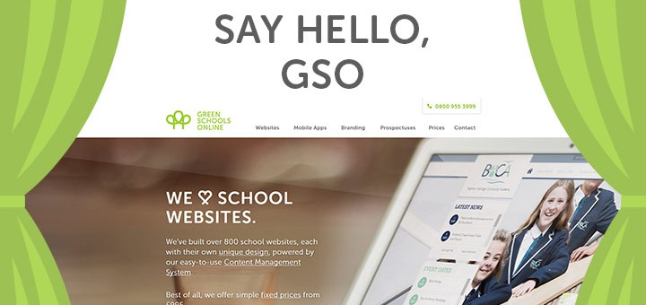 Say hello to the new Green Schools Online website