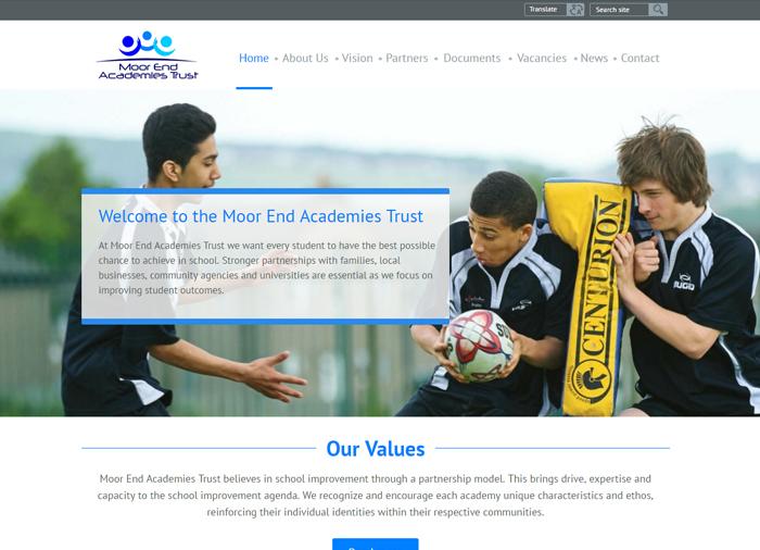 MoorEnd Academy Trust Website