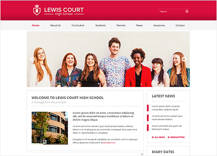 Our School Website Templates - Greenhouse School Websites